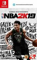 NBA 2K19 - Nintendo Switch Standard Disc