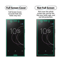 1x FULL SCREEN Face Curved TPU Screen Protector Cover - Sony Xperia XZ1 Compact