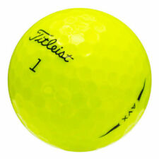 Titleist AVX 24 Mint 5A Titleist AVX AAAAA Used Golf Balls Yellow