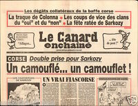 CANARD ENCHAINÉ Birthday Newspaper JOURNAL NAISSANCE 9 JUILLET JULY 2003
