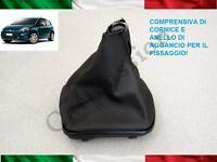 CUFFIA CAMBIO FIAT PUNTO MY 2012-2018 ORIGINALE IN PELLE CON AGGANCI gear boot
