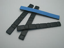 4 x Black Adhesive Stick On Wheel Weights 4x60g - 5g/10g Per Strip