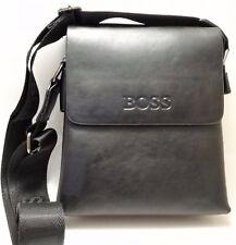 Mens Bag Hugo Boss Black Real Soft Leather