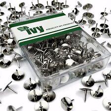 Ivy Stationery-Nickel PUNTINE-PUNTINA DA DISEGNO-CONFEZIONE DA 150 - 9.5mm HEAD