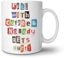 Fred & Friends Mixed Messages Do It Yourself Ransome Note Mug