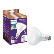 Philips Color & Tunable White BR30 LED 65-Watt Equiv Smart Wi-Fi Light Bulb