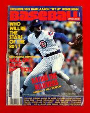 Baseball Magazine June 1980 Cover Shot: Bruce Sutter jmc