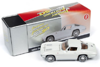 A.S.S NEU Johnny Lightning 1/64 Chevy Corvette Stingray Collectors Tin Garage
