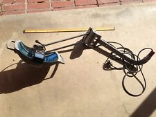 VINTAGE WORKING WILMOT CASTLE CO. SWINGING SURGICAL DENTAL LAMP/LIGHT
