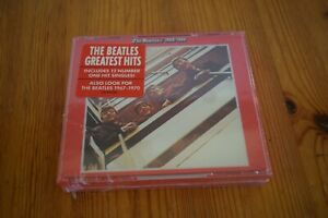 The Beatles Greatest Hits CD - 1962-1966 2 Discs- New/Sealed