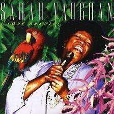 Sarah Vaughan - I Love Brazil [New CD]