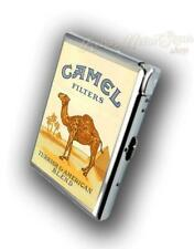 CAMEL  ADVERTISING CIGARETTE CASE WITH  BUILD IN LIGHTER