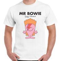 Mens Funny David Bowie T-Shirt