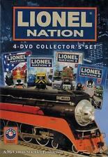 Lionel Nation 4-DVD Collectors Set Part 1, 2, 3 & 4. Layouts O Gauge HiRail