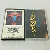 Vintage Boston ‎Cassette Boston Third Stage Classic Rock 80s lot 2 Sony Music