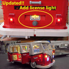 Updated Led light Kit for lego 10220 &pin 21001 Camper Van Lighting Bricks VW T1