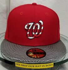 Washington Nationals~MLB~New Era~59FIFTY~Genuine~2018 All Star Game~High End~Red