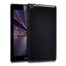 kwmobile Crystal Cover TPU für Asus ZenPad C 7.0 Schwarz Silikon Case Schutz