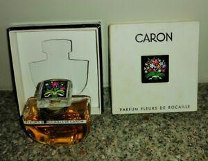 FLEURS de ROCAILLE by CARON PARFUM, Baccarat Vintage in ORIGINAL BOX