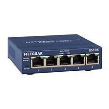Commutateurs réseau NETGEAR pour réseau d'entreprise et serveur avec 5 ports lan