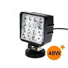 48W LED Work Light Lamp DC10-30V For Jeep SUV ATV Off-road Truck Night Light