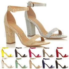 Women's Strappy Block High heels Sandals & Beach Shoes