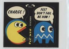 1980 Fleer Pac-Man Stickers #2.3 Charge! Feet Don't Fail Me Now! (With Eyes) 2k3