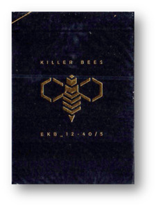 Killer Bee Playing Cards By Ellusionist Poker Cardistry