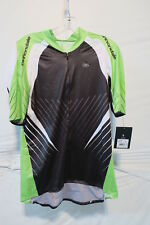 Cannondale Sugoi RSE Jersey Men's XL Black/Green Retail $190
