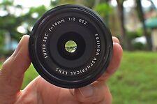 Fuji Fujifilm Fujinon XF 18mm f/2 R Lens - * MINT* CONDITION -
