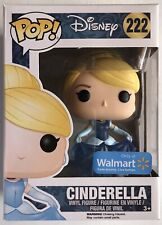 Cinderella Glitter Dress Disney Funko Pop Vinyl Figure #222 + Pop Protector