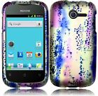 For Huawei Ascend Y H866C Rubberized HARD Case Snap On Phone Cover Animal Lines