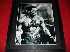 ARNOLD SCHWARZENEGGER Signed Autographed 10X8 FRAMED PHOTO Print arnie