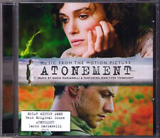 ATONEMENT Dario Marianelli Jean-Yves Thibaudet ABBITTE CD Joe Wright Soundtrack