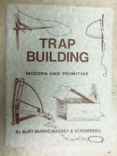 Book-Burt-Massey - Trap Building Modern and Primitive  Traps Trapping  Duke