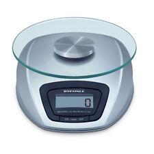 Soehnle Digital Kitchen Scales Siena Silver New