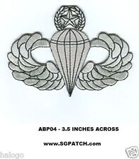 AIRBORNE JUMP MASTER WINGS PATCH - ABP04
