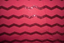 Burgundy Sequin Jersey Knit #212 Rayon Poly Spandex Lycra Fabric BTY