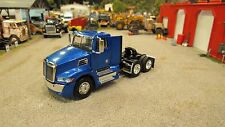 DCP 1:64 BLUE WESTERN STAR 5700 XE TANDEM AXLE SEMI DAY / CAB TRUCK NEW LOOSE