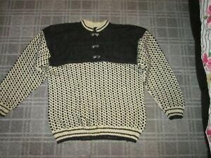 Ladies Jumper sweater top size 16-18-20 Nordic Norwegian Icelandic VINTAGE RETRO