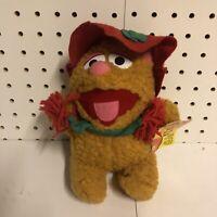VTG Jim Henson Muppet Babies Fozzie Bear 1988 McDonalds Christmas w/ Tags