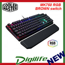 Cooler Master Masterkeys MK750 RGB Mechanical Keyboard BROWN switch