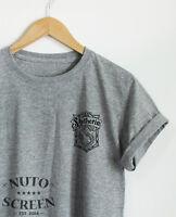 Slytherin Crest T-Shirt Pocket Unisex Harry Potter Clothing Top Unisex Shirts