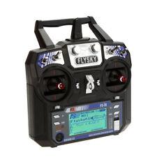Flysky FS-i6 radio trasmettitore 6CH 2.4G AFHDS 2A LCD Sistema per RC Quadcopter