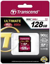 Transcend SDXC UHS-I 128 GB  128GB TS128GSDXC10U1 Class 10 UHS 1 600x