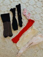 American Girl Pleasant Company Doll Tights Stockings Socks 6 Pair Lot Vintage