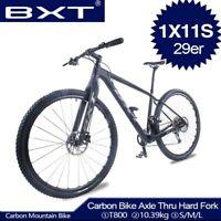29er Carbon Fiber MTB Bike Ultra-light Mountain Bicycles Full Carbon Fork Rigid