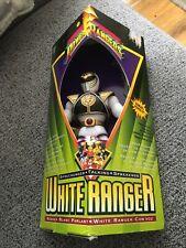 Bandai Mighty Morphin Power Rangers Talking White Ranger '95 Sealed Triangle Box