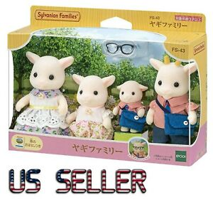 Sylvanian Families Goat Family FS-43 Calico Critters Epoch Japan 2021
