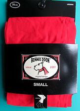 COLLANTS LEGGING MI-LONG T1 S SMALL rouge Basic Opaque BONNIE DOON femme NEUF